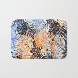 Palm Leaves By Annie Zeno Bath Mat