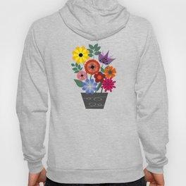 Spring flowers in vase Hoody