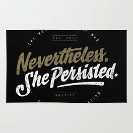 NevertheLess She Persisted II Rug