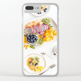 breakfast time Clear iPhone Case