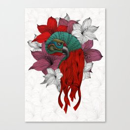 THE PARROT Canvas Print