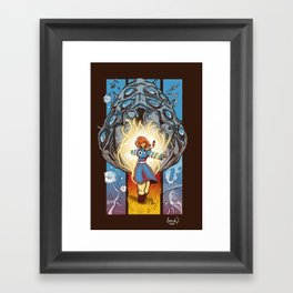 Valley of The Wind Framed Art Print