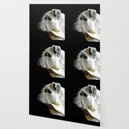 english bulldog dog vector art Wallpaper