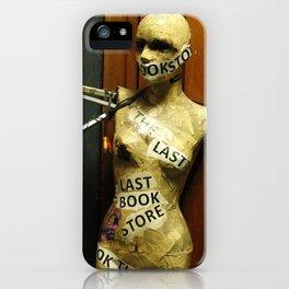 The Last Bookstore iPhone Case