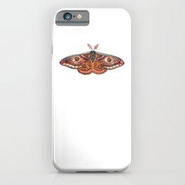 Small Emperor Moth (Saturnia pavonia) iPhone Case