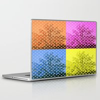 popart Laptop & iPad Skins featuring Autum popart by healinglove by Healinglove art products