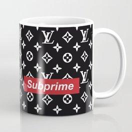 Subprime x Supreme x LV (BLACK) Coffee Mug