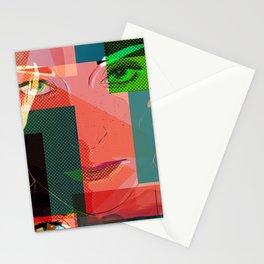 Eyes Pop art Stationery Cards
