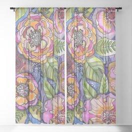 Purple Dream Sheer Curtain