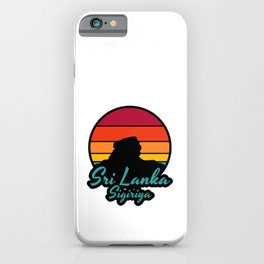 Sri Lanka Sigriya: Vintage Sunset  iPhone Case