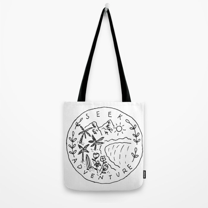 Seek Adventure Tote Bag