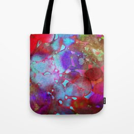 color burst Tote Bag