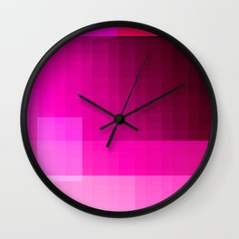 must be pink Wall Clock