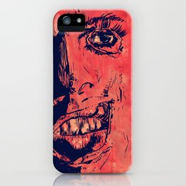 Icons: Leatherface iPhone Case