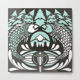 Astrology Northwest: Pisces Metal Print
