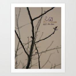 To December Art Print