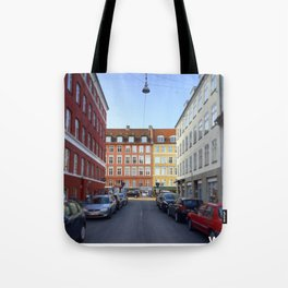 Colours of Vesterbro, Copenhagen Tote Bag
