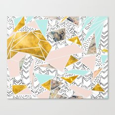 Geometric and textures Canvas Print