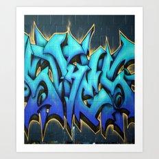 Graffiti 1 Art Print