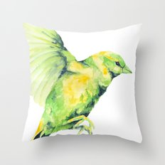Bird, Sparrow Throw Pillow