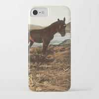 pony iPhone & iPod Cases featuring PONY by KELLY SCHIRMANN
