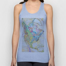 USGS Geological Map of North America Unisex Tank Top