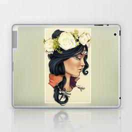 Bohemian Girl Laptop & iPad Skin
