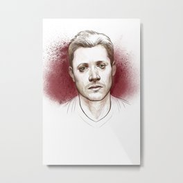 Dean Winchester. Hurt Metal Print
