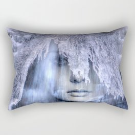 Iceberg girl Rectangular Pillow