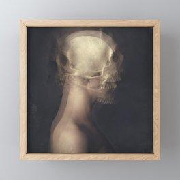Thanatic Manifestation Framed Mini Art Print