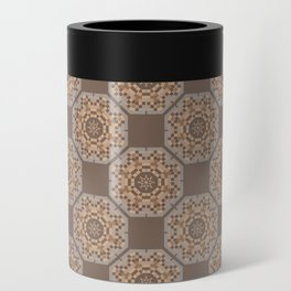 Beach Tiled Pattern Can Cooler