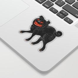 Scratch Pug Sticker