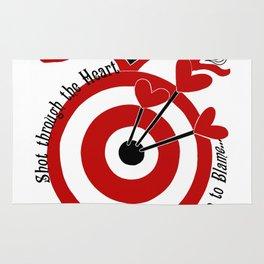 Shot through the Heart Rug