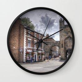 York Monk Gate  Wall Clock