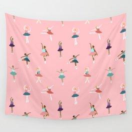 Ballerina pattern Wall Tapestry