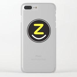 zollione store logo style icon fashion design art Clear iPhone Case