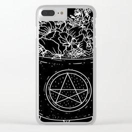 magical cauldron Clear iPhone Case