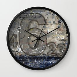 Journey by Number: 6 Wall Clock