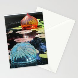 Lily Pond and Glass Floaters Stationery Cards