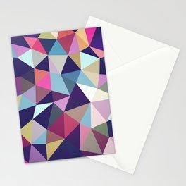 Dark Garden Tris Stationery Cards