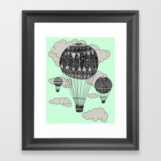 Hot Air Ballooning Framed Art Print