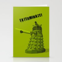 dalek Stationery Cards featuring Dalek by Digital Arts & Crafts by eXistenZ