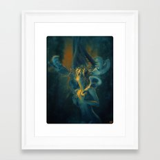 EVILSQUID Framed Art Print