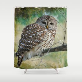 Listen a hundred times. Ponder a thousand times. Speak once. Shower Curtain