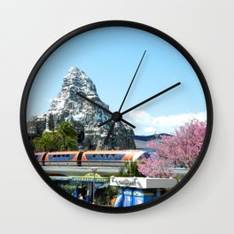 Tomorrowland Matterhorn Wall Clock
