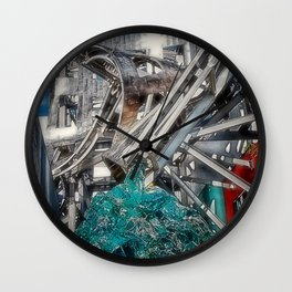 Abstract Arthitecture Wall Clock