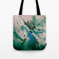 green arrow Tote Bags featuring GREEN ARROW by Zorio