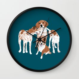Maggie Millie Maisie and Victoria Wall Clock