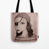 pirate Tote Bags featuring Pirate by CokecinL