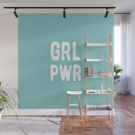 GRL PWR (Blue) Wall Mural